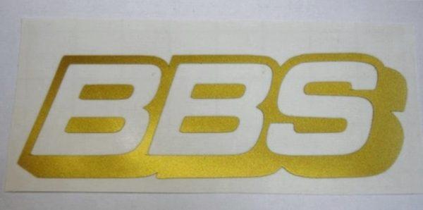 BBS_Logo_gold_Aufkleber_Sticker_1