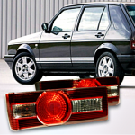 Golf_MK_I_Taillights,_crystal_clear,_RS_Look,_Golf_I