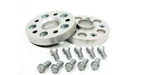 H R PCD Adaptors with bolts BMW M12x1 5 5×120 to Fit MERCEDES M14x1 5 5×112 Wheels 20 MM